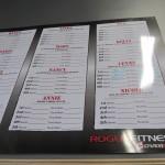 CrossFit Ready Chart