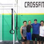 Peng Joon with Trainer Dallas Walden